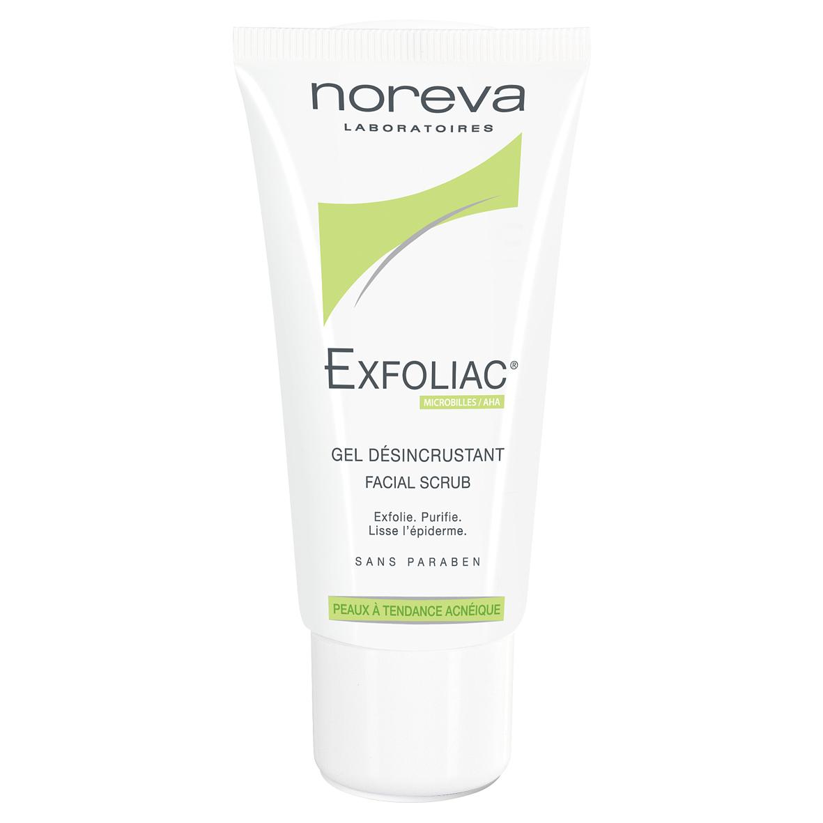 Exfoliac piling za lice za masnu kožu