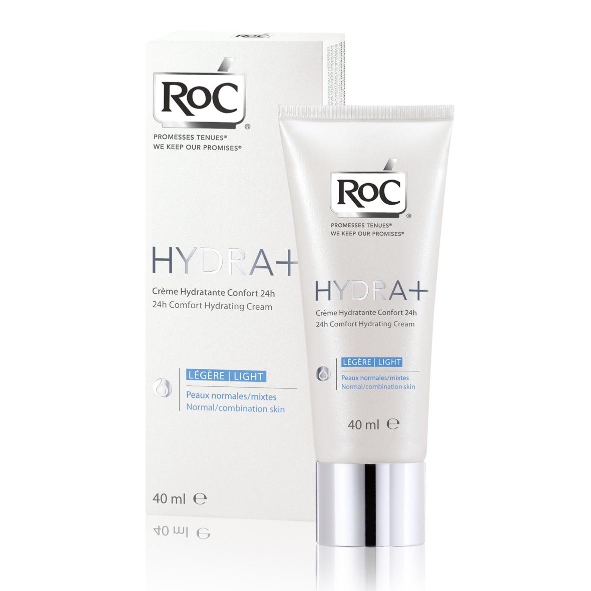 RoC Hydra+ 24h Comfort Light hidratantna krema za normalnu/kombinovanu kožu