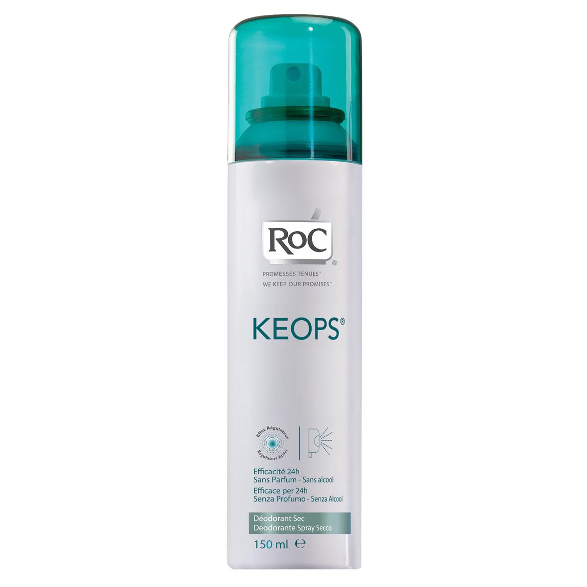 RoC Keops Deo Spray Fresh – dezodorans u spreju bez parfema