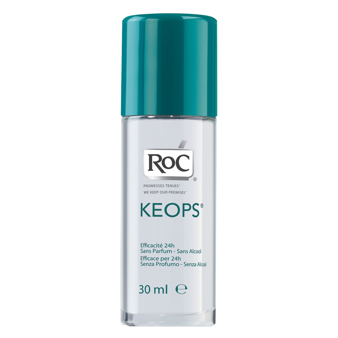 RoC Keops Roll-On dezodorans – bez parfema I alkohola