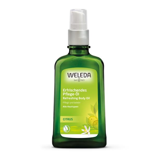 Osvežavajuće ulje za telo od citrusa