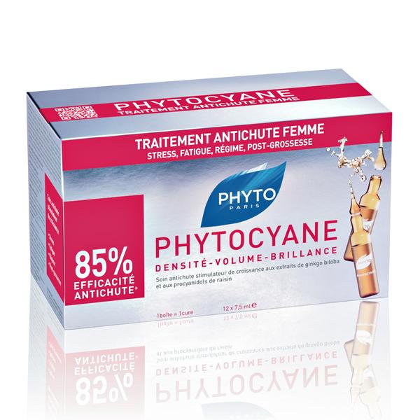 Phytocyane tretman za tanku kosu kod žena