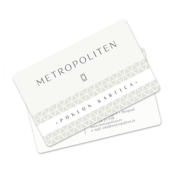 Metropoliten poklon kartica