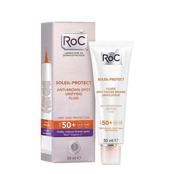RoC Soleil - Protect Fluid protiv tamnih fleka i za zaštitu od sunca SPF50+
