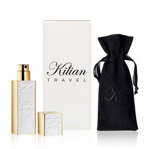 By Kilian travel spray gold white
