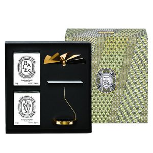 DIPTYQUE Set Carrousel + 2 candles 70g to compose