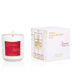 Baccarat Rouge 540 candle box