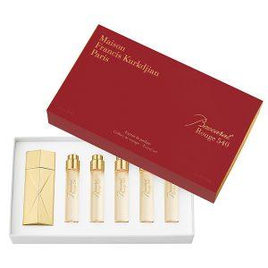 Baccarat Rouge 540 extrait de parfum travel set