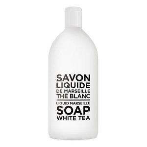 COMPAGNIE DE PROVENCE Liquid Marseille Soap 1l Refill White Tea