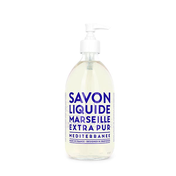 COMPAGNIE DE PROVENCE Liquid Marseille Soap 500ml Mediterranean Sea