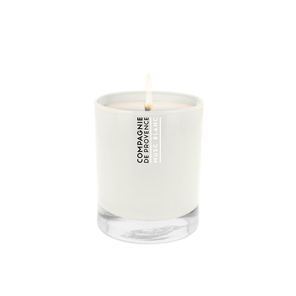COMPAGNIE DE PROVENCE Scented Candle 260g White Musk