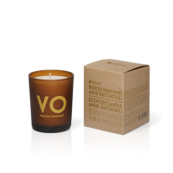 OMPAGNIE DE PROVENCE Scented Candle 190g Anise Patchouli