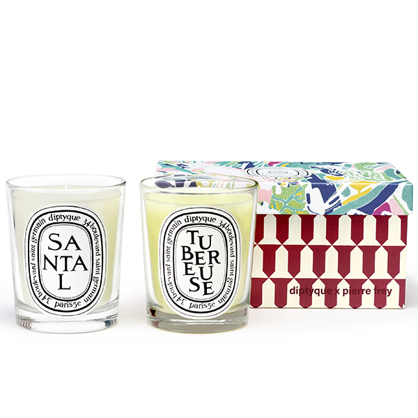 DIPTYQUE Duo set Tubereuse & Santal (2x190g)