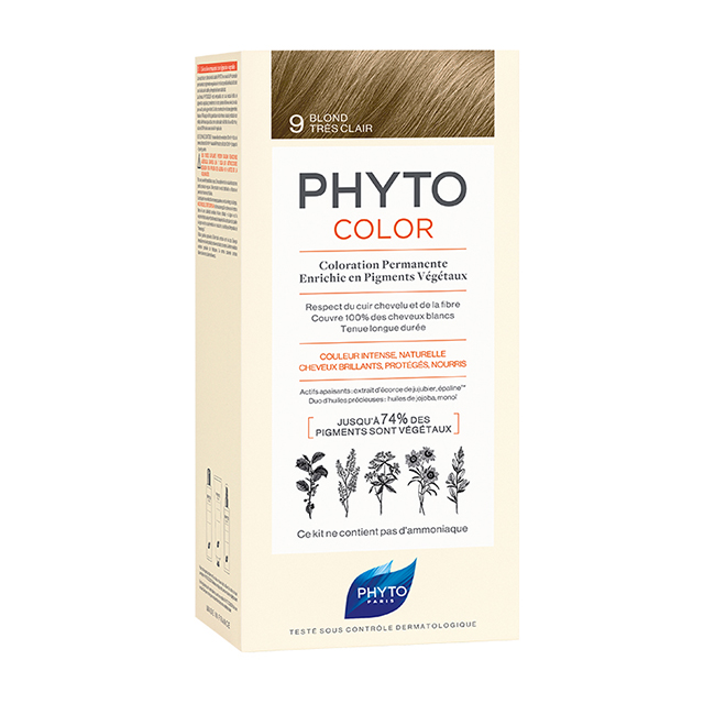 PHYTOCOLOR 9 Blond Très Clair