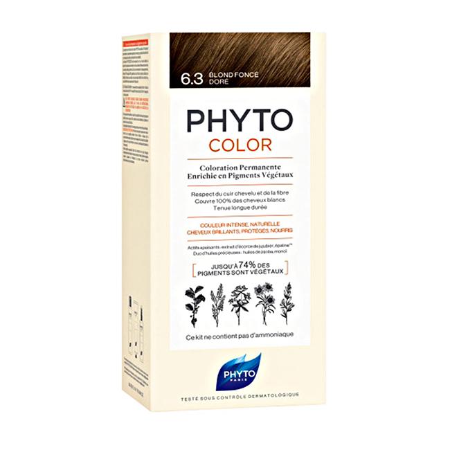 PHYTOCOLOR 6.3 Blond Foncé Dor