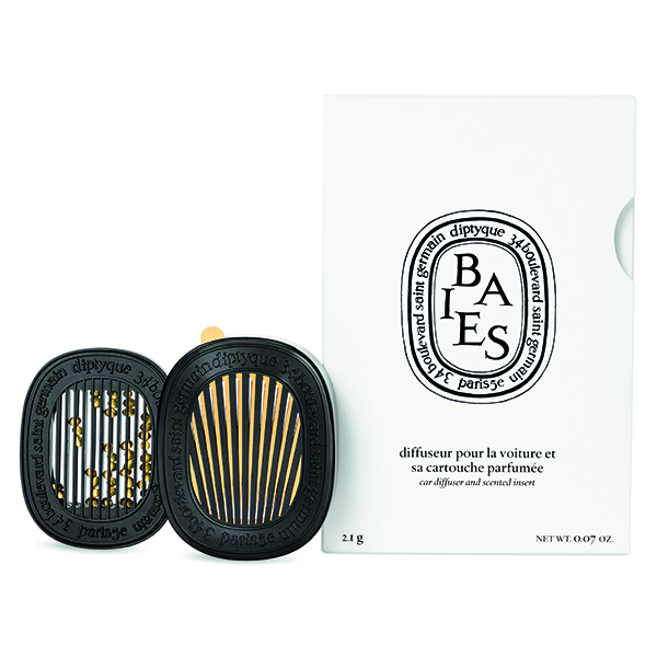 DIPTYQUE Parfumed Car Diffuser with Baies