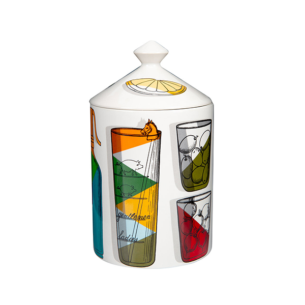 FORNASETTI Scented candle Coctail 300g