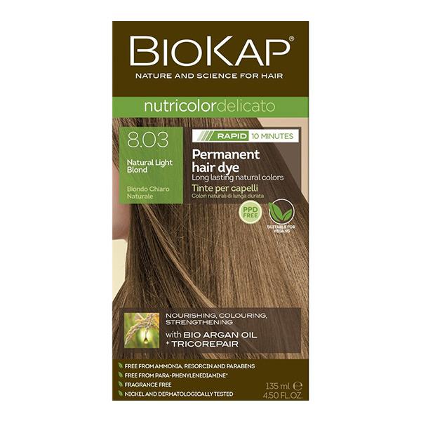 Biokap Nutricolor Delicato Rapid 8.03 / Natural Light Blond