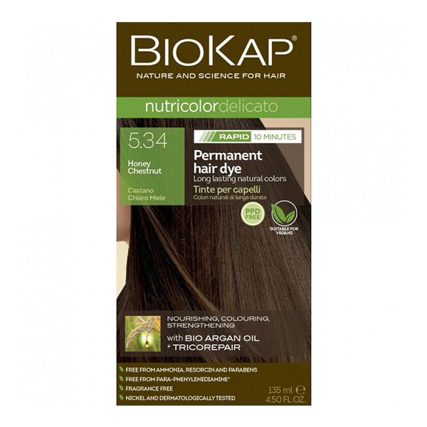 Biokap Nutricolor Delicato Rapid 5.34 / Honey Cestnut