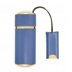 MEMO Paris - Travel Case Blue Plain Leather