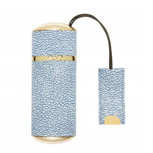 MEMO Paris - Travel Case Denim Blue Shagreen