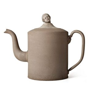 Benoit Teapot with Marie-A head glina