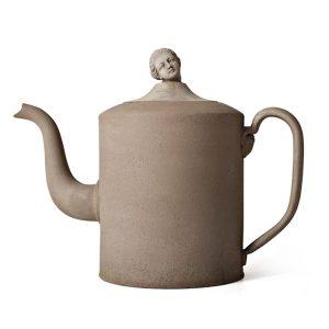 Benoit Teapot with Marie-A head glina