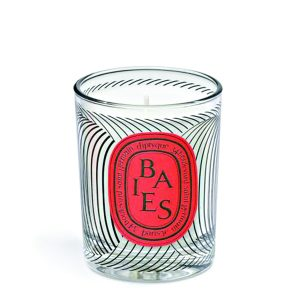Diptyque Dancing Ovals Baies Candle 70g