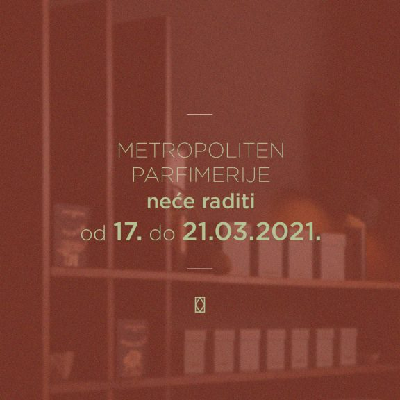 Metropoliten neradni dani mart 2021