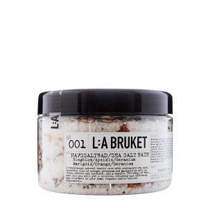 LA BRUKET 001 Sea Salt Bath Marigold Orange Geranium 450 g