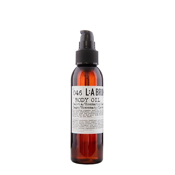 LA BRUKET 046 Body Oil Sage Rosemary Lavender 120 ml