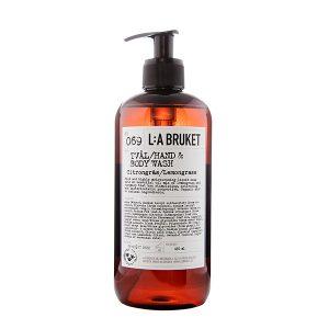 LA BRUKET 069 Hand & Body Wash Lemongrass 450 ml