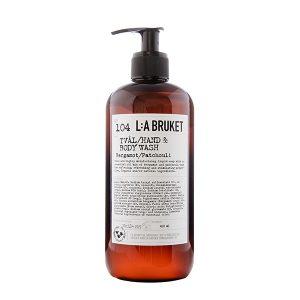 LA BRUKET 104 Hand & Body Wash Bergamot Patchouli 450 ml