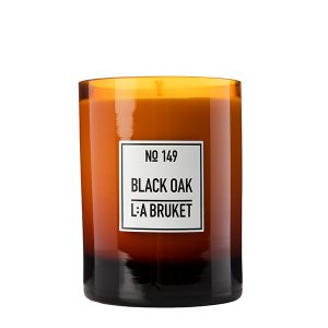 LA BRUKET 149 Scented Candle Black Oak 260 g