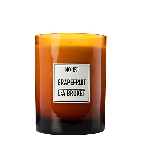 LA BRUKET 151 Scented Candle Grapefruit 260 g