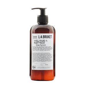 LA BRUKET 222 Hand & Body Wash Spruce 450 ml